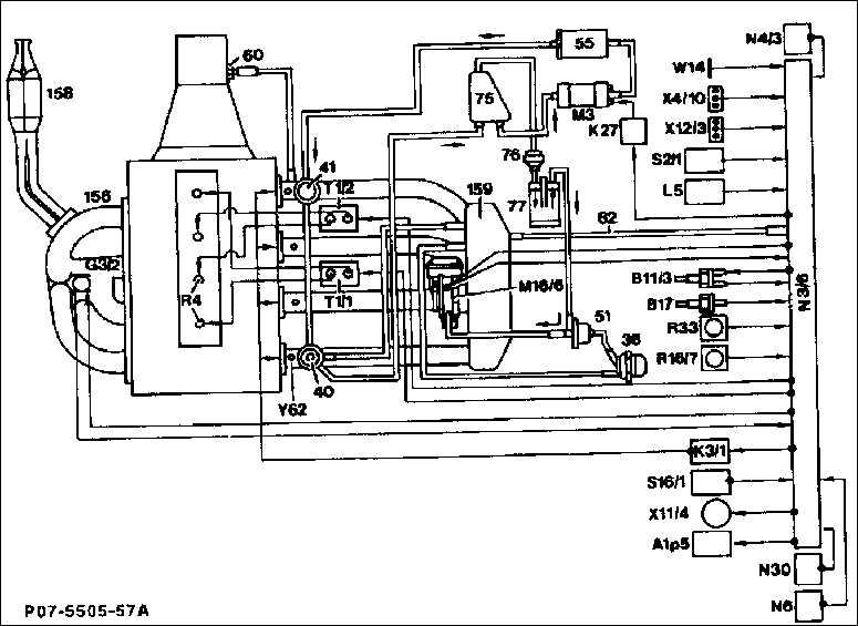Топливный фильтр 60. Система