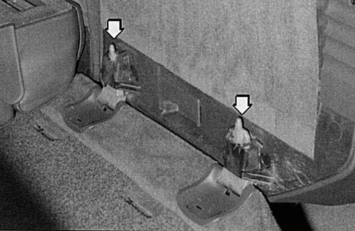 снятие задней сидушки на мерседес е240